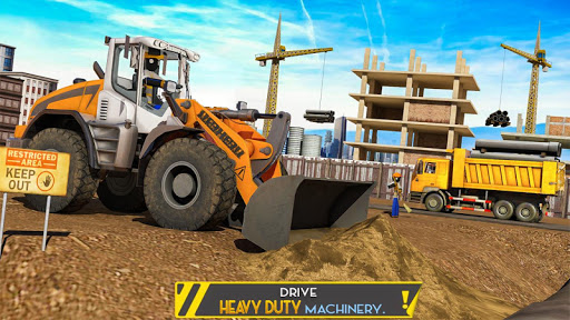 Stickman City Construction Excavator 1.5 screenshots 4