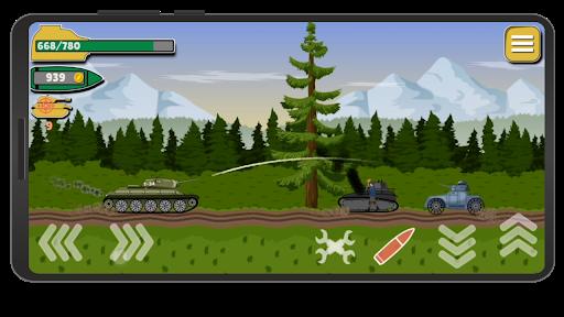 Tank Battle War 2d: game free 1.0.4.3 screenshots 7