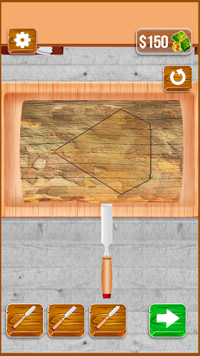 Wood Cutter - Wood Carving Simulator  screenshots 1