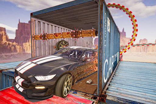 Car games 3d : Impossible Ramp Stunts 1.0 screenshots 6