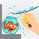 Draw 4 Life - Save Fish's Life para PC Windows