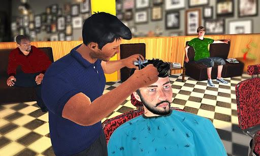 Barber Shop Hair Salon Cut Hair Cutting Games 3D apklade screenshots 2