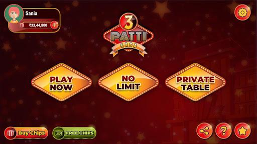 3 Patti Online Game 2021 :New 3 Patti Indian Poker 2.1 1