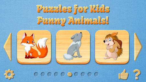 Funny Animal Puzzles for Kids, full game apkmartins screenshots 1