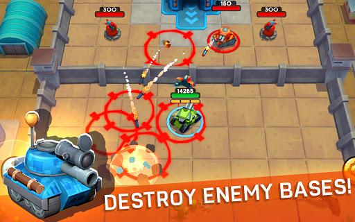 Tankhalla: New casual offline tank arcade game 1.0.2 screenshots 1