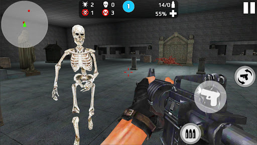 Skeleton Shooting War: Survival 3.9 screenshots 6