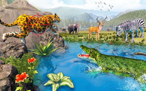 Sniper Clash Jungle Hunting Animal Shooting Games apkdebit screenshots 2