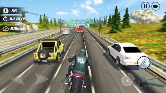 Highway Moto Rider – Traffic Race – Mod APK (Unlock All) 3