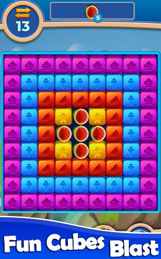 Cube Blast: Match Block Puzzle Game apkpoly screenshots 8