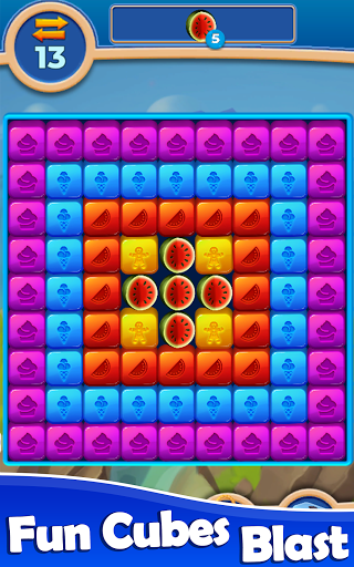 Cube Blast: Match Block Puzzle Game apkpoly screenshots 12