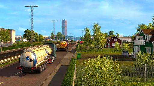 Euro Truck Parking Simulator 2021: 3d parking Game Apkfinish screenshots 3
