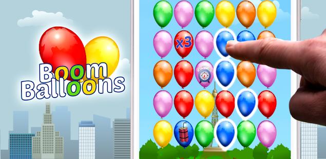 boom balloons - match, mark, pop and splash hack