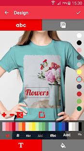 T-shirt design - Snaptee 1.1.7.4 Screenshots 3