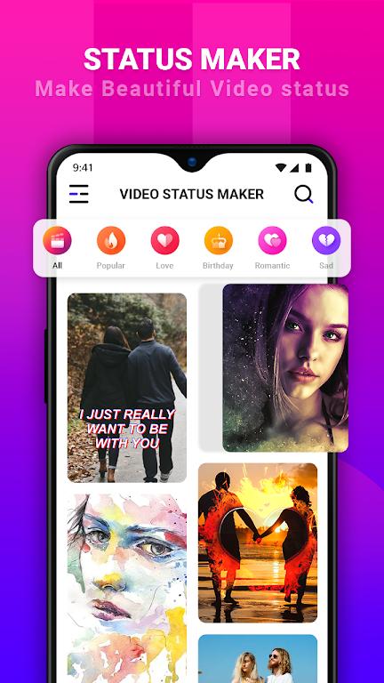 ViSho - Lyrical Video Status Maker poster 0