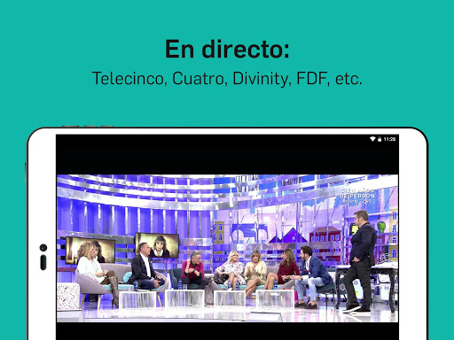 Mitele - Mediaset Spain VOD TV apktram screenshots 15