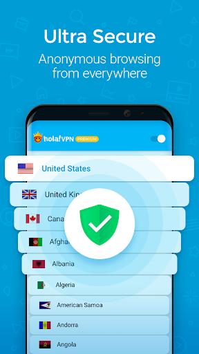 Hola VPN Proxy Plus  Screenshots 3