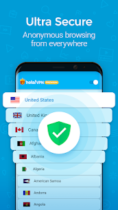 Hola VPN Proxy Plus MOD APK (Premium Unlocked) 3