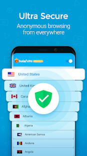 Hola VPN Proxy Plus Screenshot