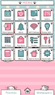Cute Wallpaper Peeking Cat Theme 1.0.0 Mod APK Download 2