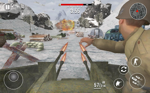 World War 2 Frontline Heroes: WW2 Commando Shooter apkdebit screenshots 1