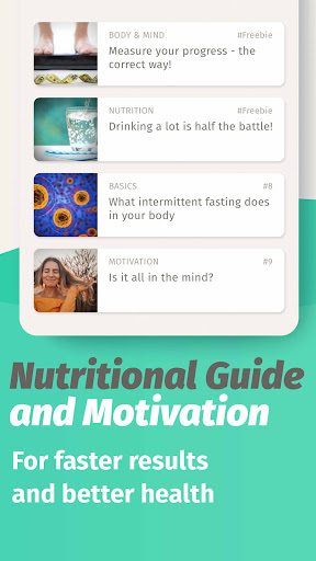 BodyFast Intermittent Fasting Tracker - Diet Coach android2mod screenshots 5