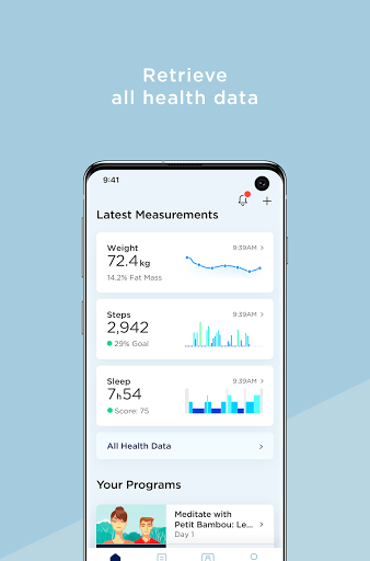 Withings Health Mate 5.3.2 Screenshots 3