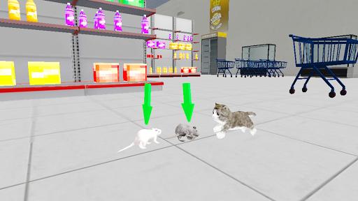 Kitten Cat Craft:Destroy Super Market Ep2 apklade screenshots 2