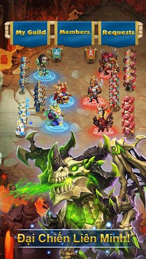 Castle Clash: Quyu1ebft Chiu1ebfn-Gamota screenshots 17