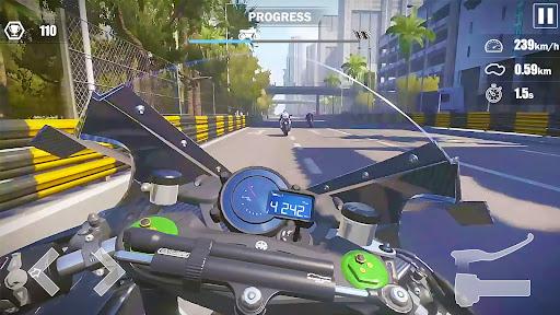 Street Moto: Speed Race screenshots 1