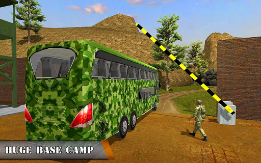 Army Bus Driving 2019 - Military Coach Transporter 1.0.9 screenshots 12