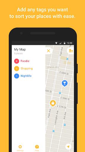 Mapstr android2mod screenshots 2