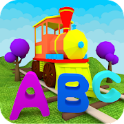 Learn ABC Alphabet - Train Game For Preschool Kids