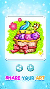 Glitter Ice Cream Coloring 5.4 Screenshots 6