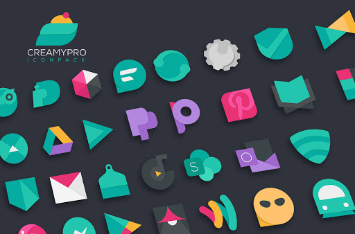 Download APK: Creamypro Icon pack v1.1.2 [Patched]