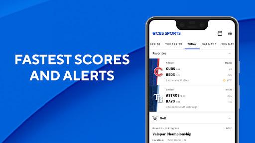 CBS Sports App - Scores, News, Stats & Watch Live apktram screenshots 2