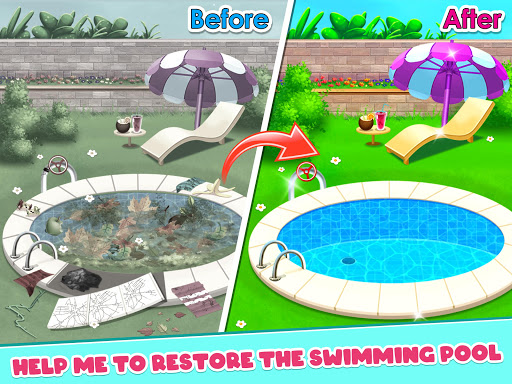Big Home Makeover - House Cleaning Game for Girls 3.0 screenshots 9