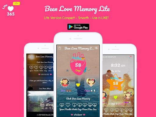 Been Love Memory Lite - Love Counter Lite 2020 1.1.3 Screenshots 1
