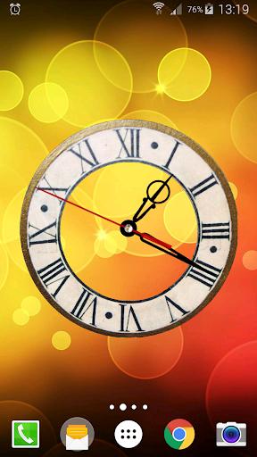 Battery Saving Analog Clocks Live Wallpaper 6.5.1 Screenshots 4