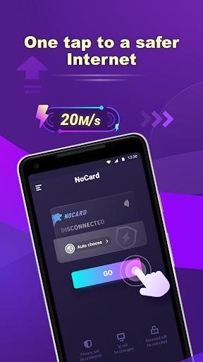 NoCard VPN - Free Fast VPN Proxy, No Card Needed apktram screenshots 1