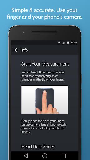 Instant Heart Rate: HR Monitor & Pulse Checker apktram screenshots 2
