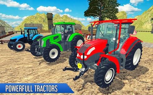 Tractor Thresher Games 3D  Farming Games Apk Download 1