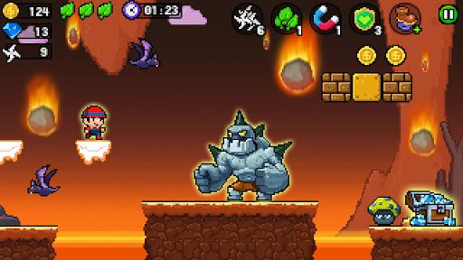 Pixel World - Super Run  screenshots 2