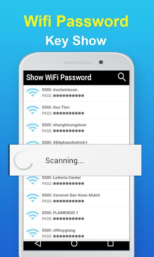 wifi password key show : wifi analyzer screenshot 2