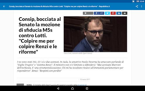 Italia News | Italia Notizie 7.2.1 Screenshots 22