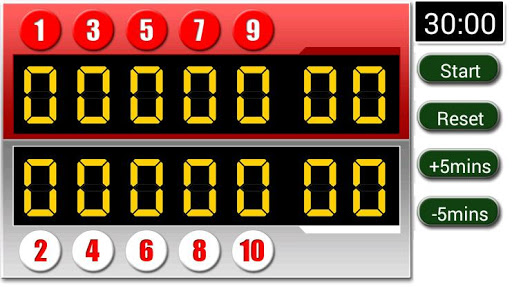Gateball Scoreboard For PC Windows (7, 8, 10, 10X) & Mac Computer Image Number- 5