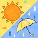 かわいい天気予報3 Android