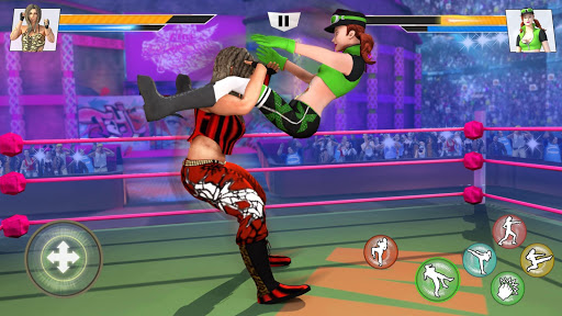 Bad Girls Wrestling Rumble: Women Fighting Games 1.3.0 screenshots 3