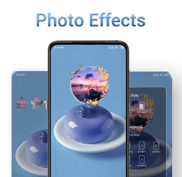 3D Effect Launcher - Cool Live Effect, Wallpaper  poster 4