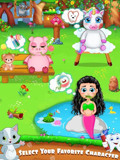 Unicorn Pet Dentist Dental Care Teeth Games 0.7 Screenshots 5