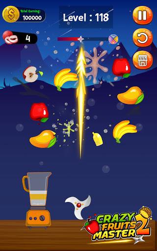 Crazy Juice Fruit Master:Fruit Slasher Ninja Games  screenshots 4